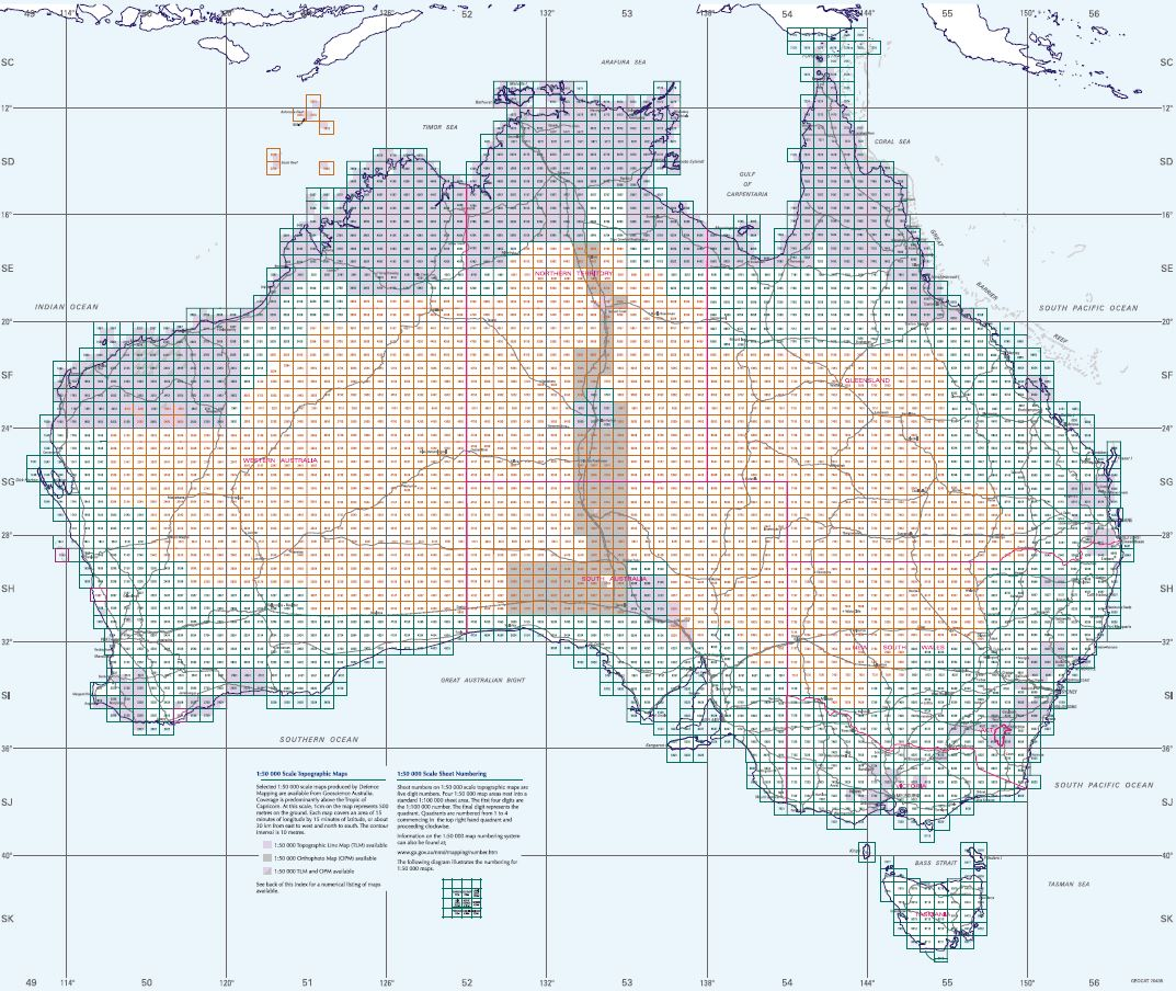 Finding Printed Maps - Geospatial Information - Guides at