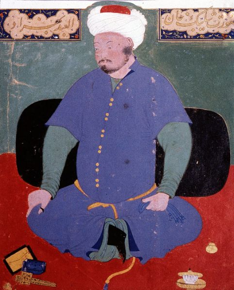 Portrait of Muhammad Shaybani Khan