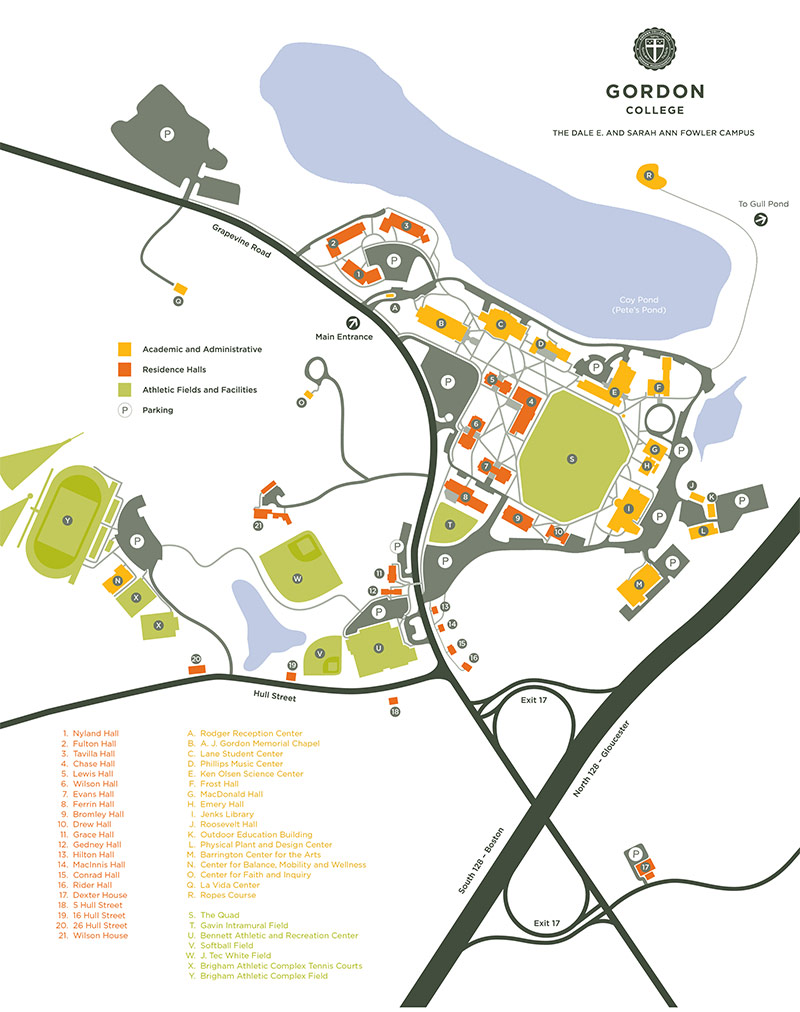 Salem College Campus Map.Directions About The Library Guides At Gordon College