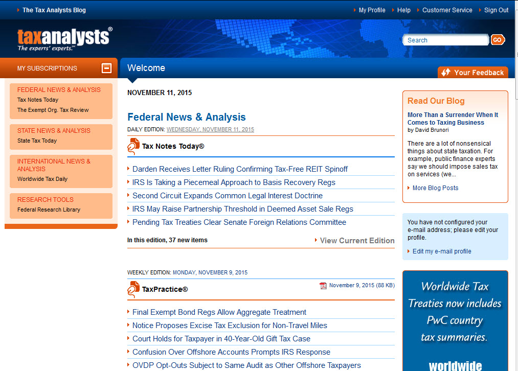 Tax Research Databases - Federal Tax Research - LibGuides at