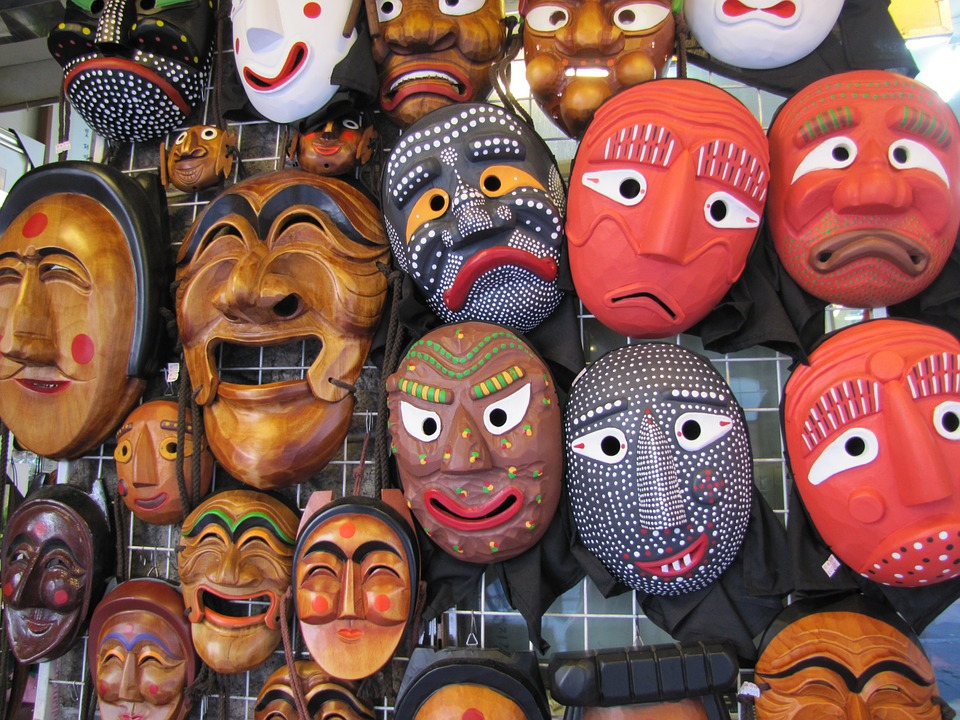 Korean masks