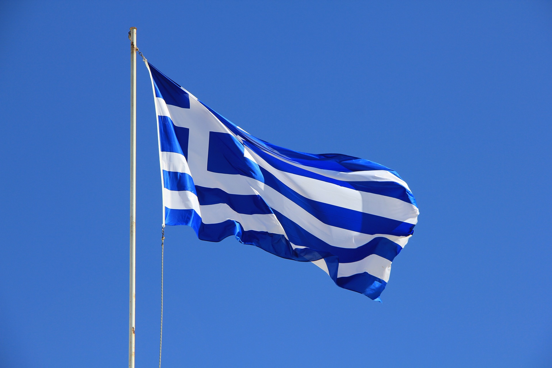 Image of the flag of Greece