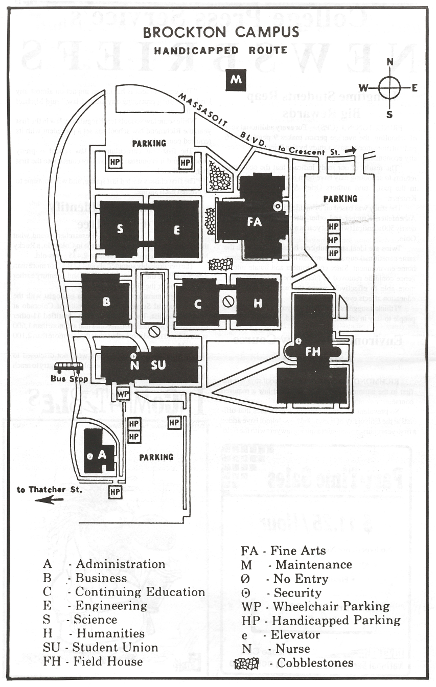 Brockton Va Campus Map.Timeline Massasoit Community College Archive Massasoit Libraries