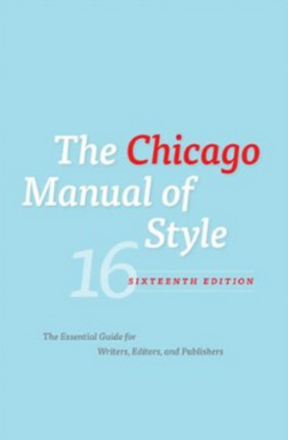 turabian chicago manual of style