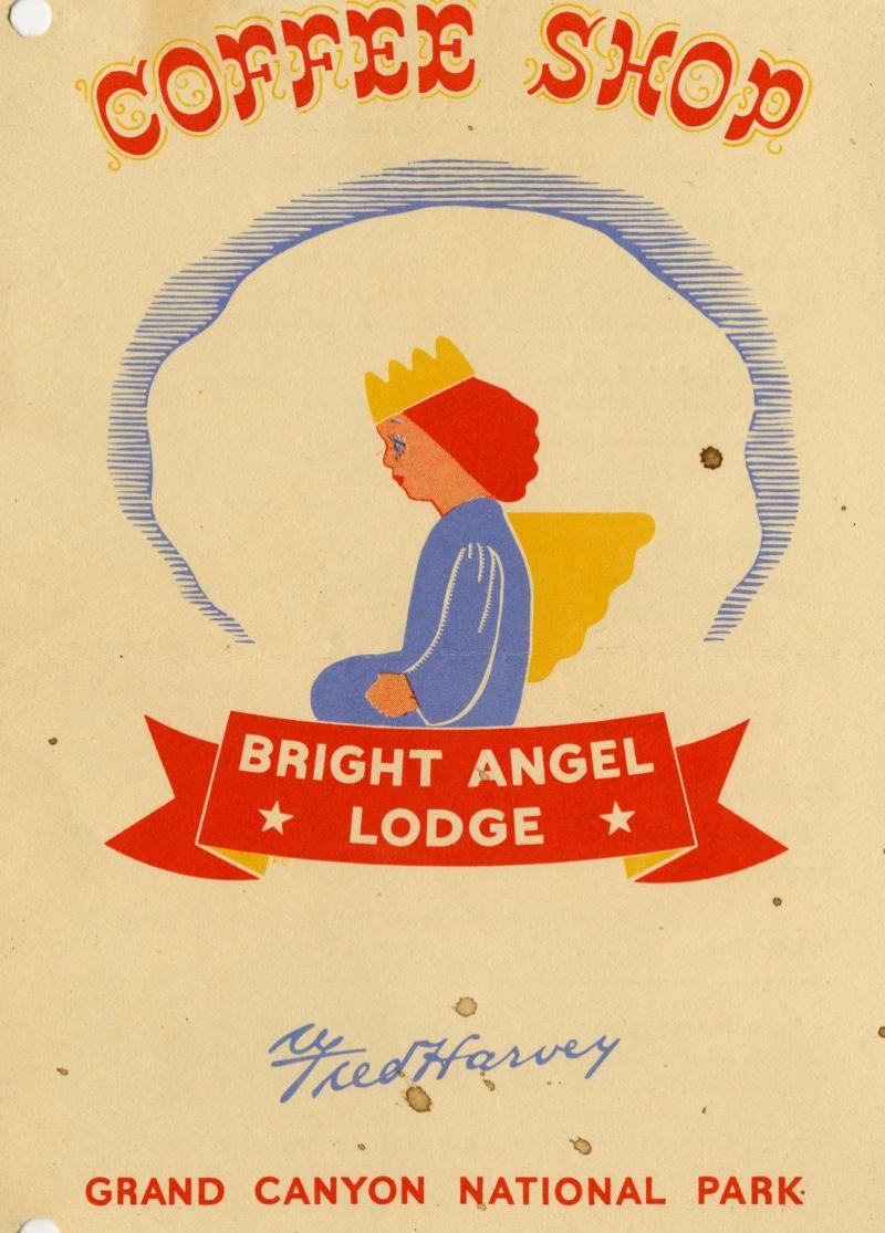 Bright Angel Lodge menu