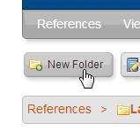 RefWork New Folder Icon