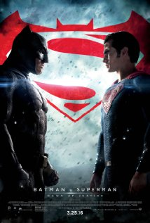 Batman v Superman: Dawn of Justice dvd cover