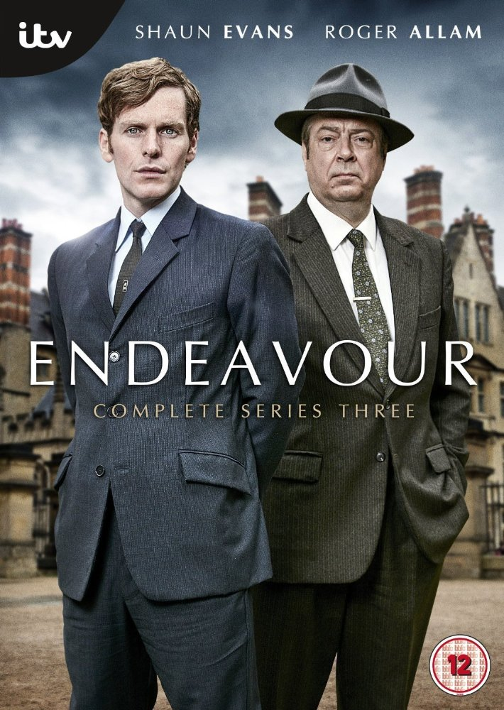 Endeavour: Season 3 dvd cover