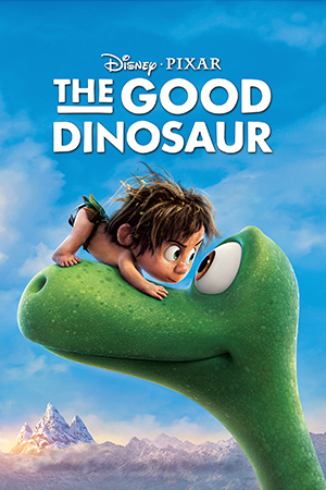 The Good Dinosaur dvd cover