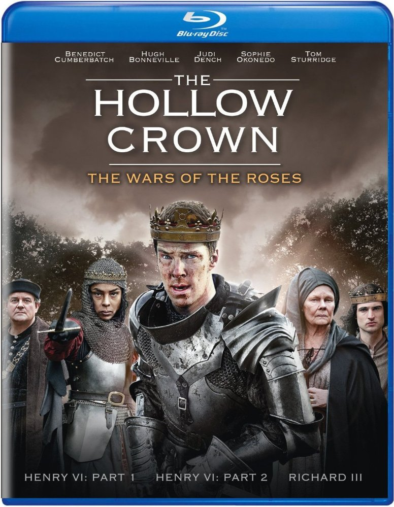 The hollow crown. The wars of the roses dvd cover