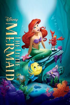 The Little Mermaid dvd cover