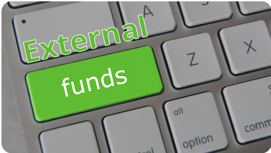 button links to Search for External Funds page