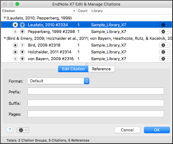 Edit and Manage Citations - EndNote and EndNote Online - LibGuides