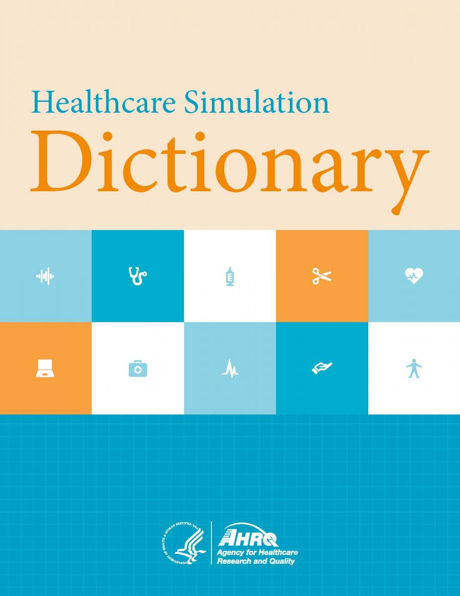 Healthcare simulation dictionary image of cover