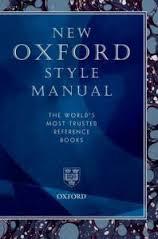 New oxford style manual (hardcover) (oxford university press (cor.