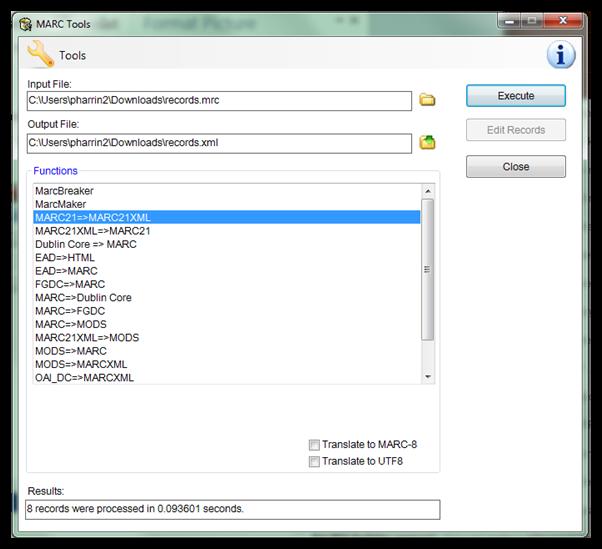 Document Conversion - MarcEdit - LibGuides at University of