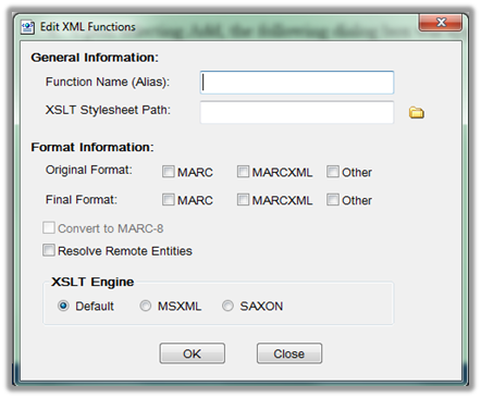 Overview of XML Conversion in MarcEdit - MarcEdit - LibGuides at