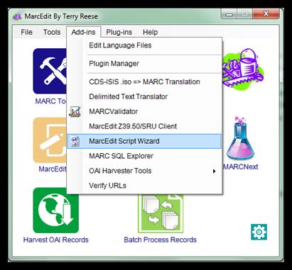 Scripting in MarcEdit - MarcEdit - LibGuides at University