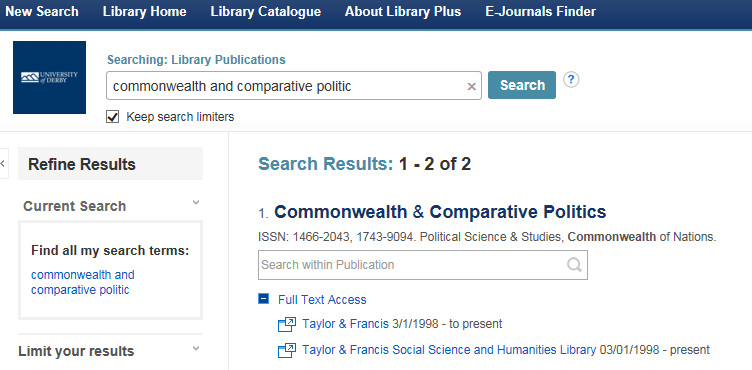 Finding Articles - International Relations - LibGuides at