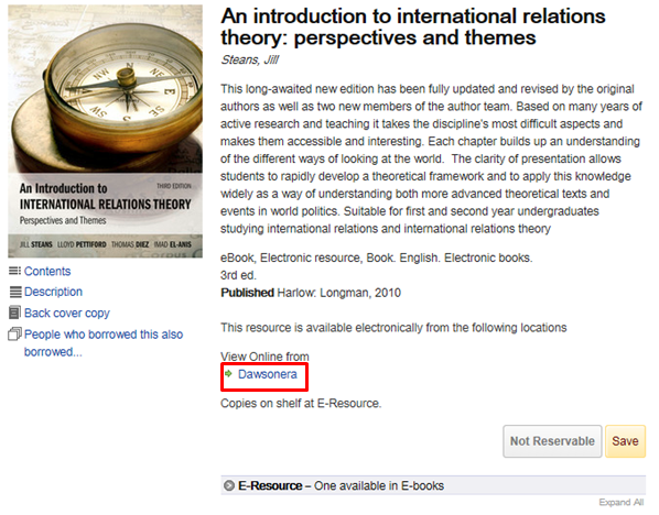 Finding Books - International Relations - LibGuides at