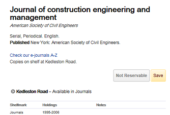 Finding Articles - Building, Construction and Civil Engineering