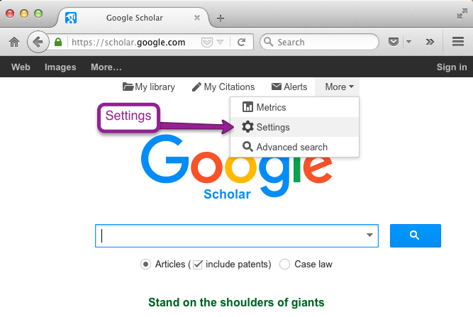 Finding the full text of articles google scholar tips and tricks google scholar tips and tricks stopboris Choice Image
