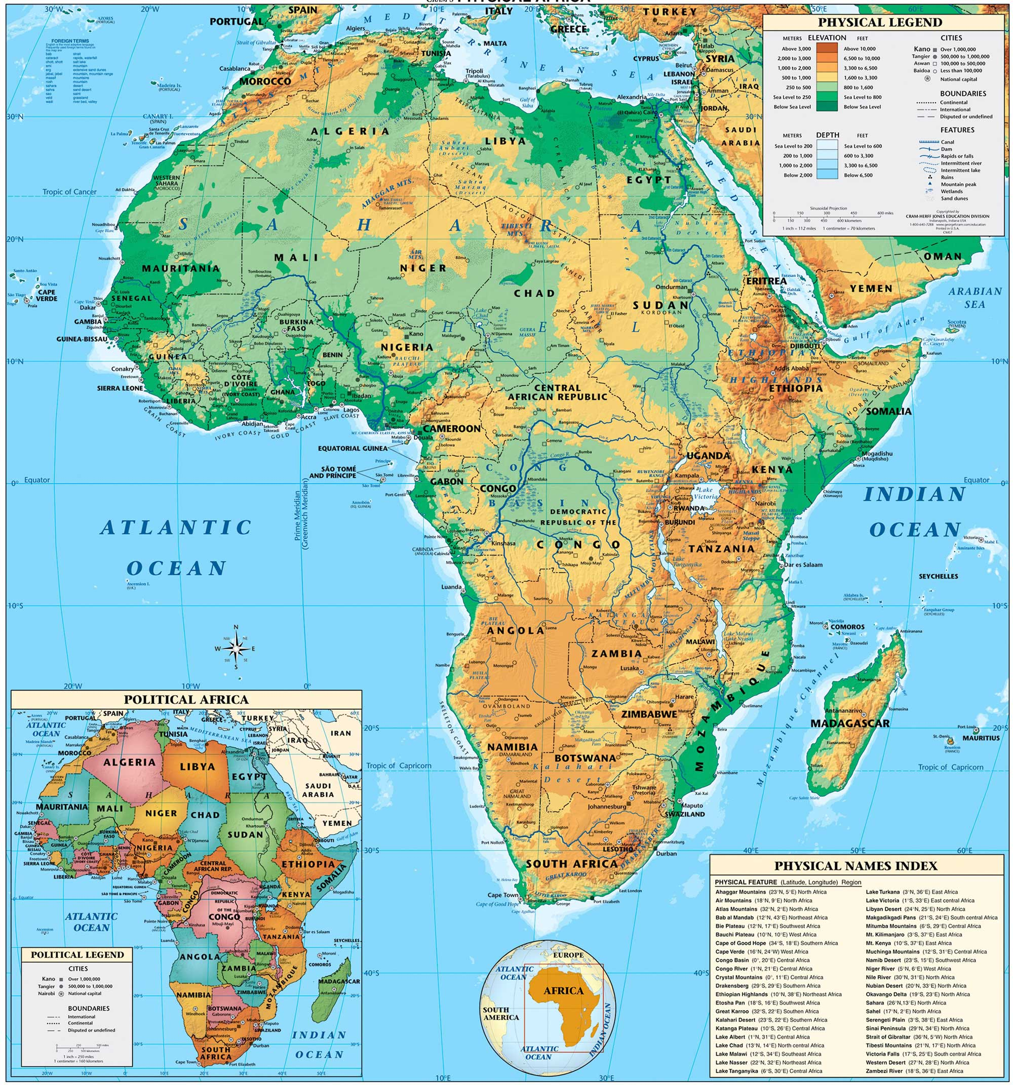Maps Geography 440 Sub Saharan Africa Research Guides At