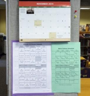 Proctor Schedule