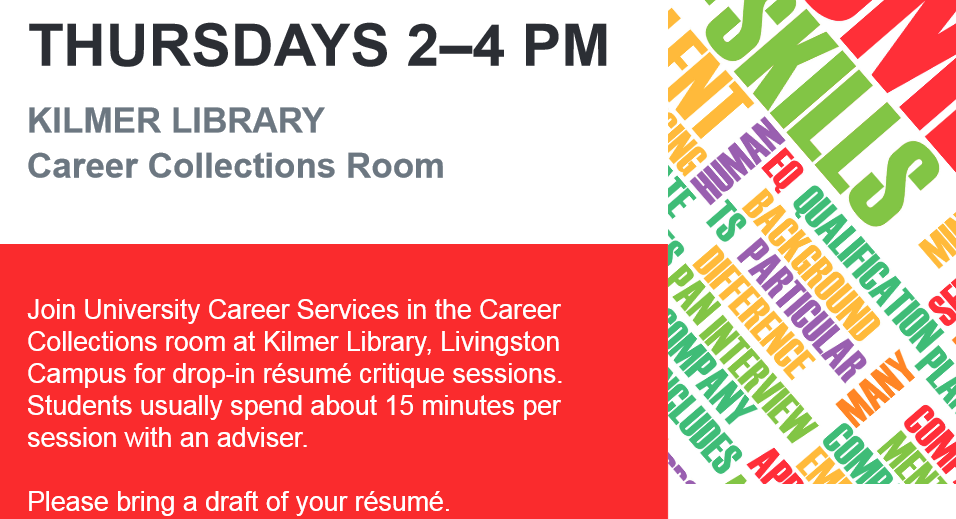 resume critique at carr library