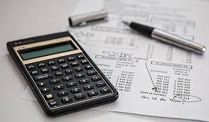 Calculator, Spreadsheet, Pen