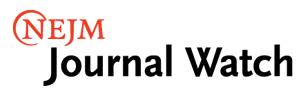 NEJM Journal Watch