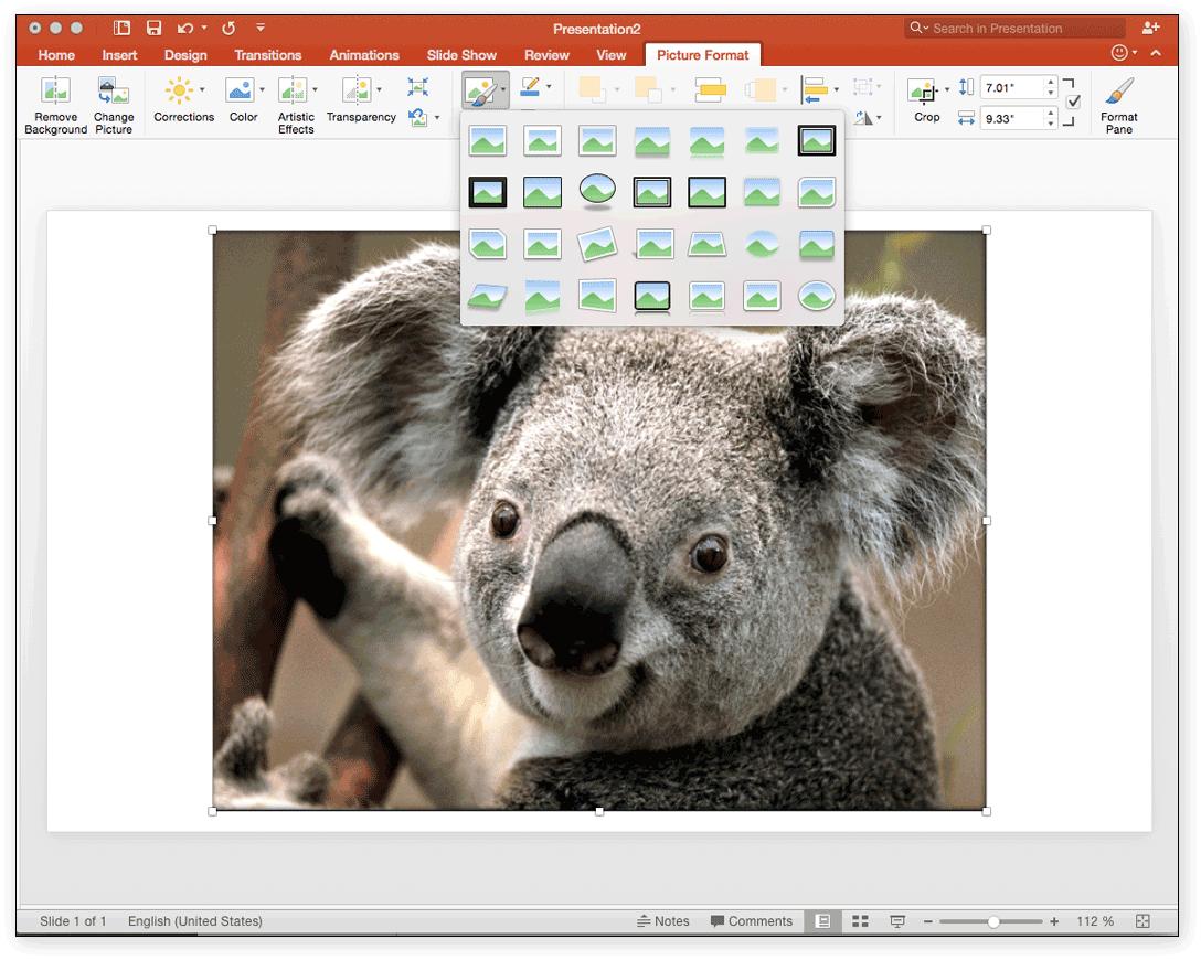 Powerpoint for mac 2011 create a themfasrtrek word