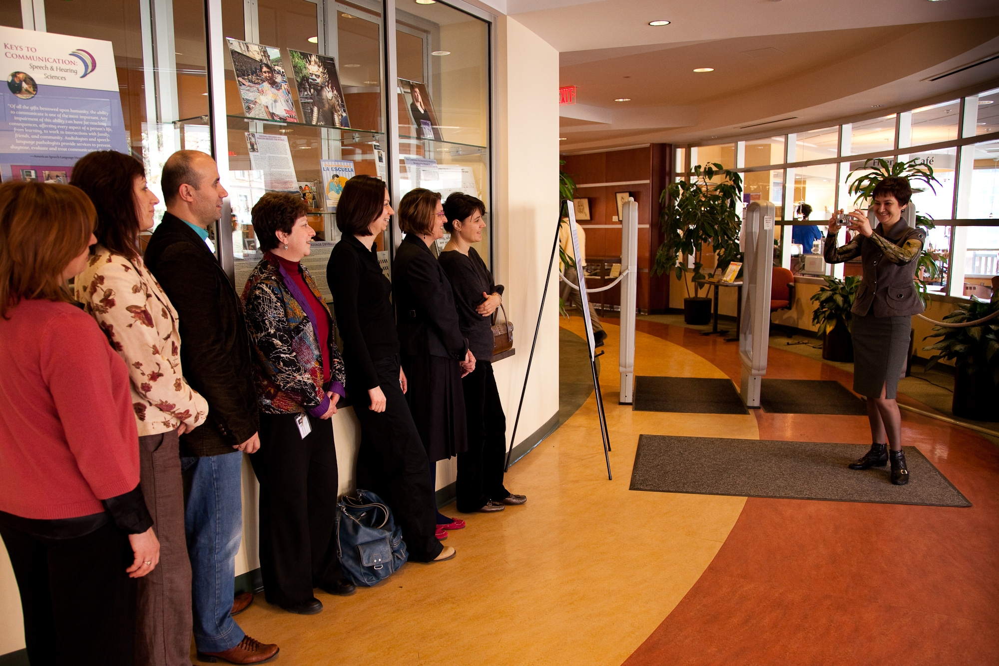 International Visitors to Keys to Communication Exhibit Celebrating Speech and Hearing Sciences 40th Anniversary March through October 2010
