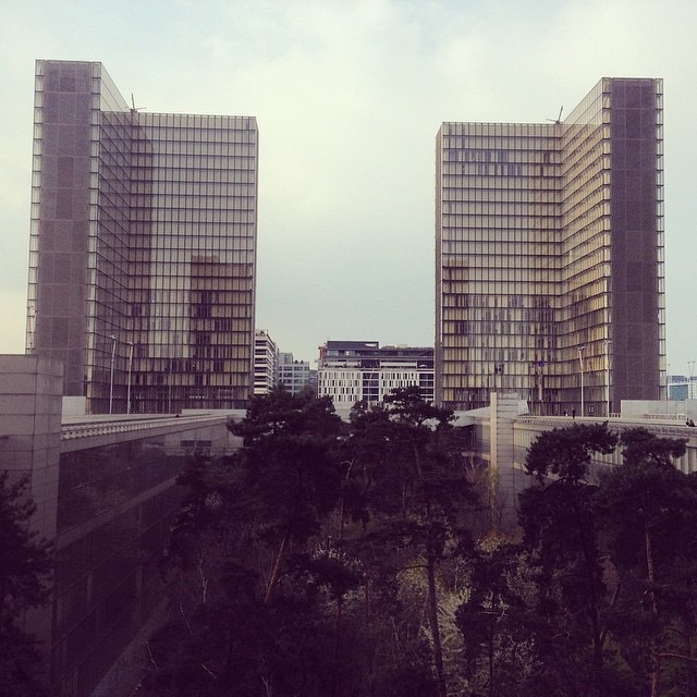 Image of Bibliothèque nationale de France. Photo by Deb Raftus