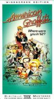 American Graffiti Poster with sketches of characters