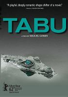 Movie Poster for Tabu