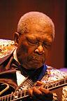 """""""B.B.King"""" autorstwa Werner100359 - Praca własna. Licencja CC BY-SA 3.0 na podstawie Wikimedia Commons - http://commons.wikimedia.org/wiki/File:B.B.King.JPG#/media/File:B.B.King.JPG"""