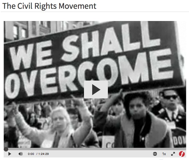 Civil Rights Movement video