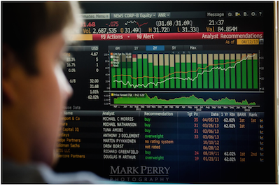 Josh looks at the Bloomberg terminal
