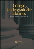 College & Undergraduate Libraries journal cover