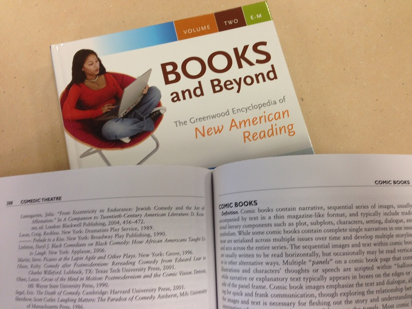 Books and Beyond cover and page