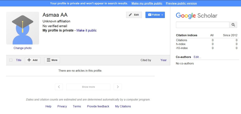 Google Scholar H Index Step By Step Find Your H Index