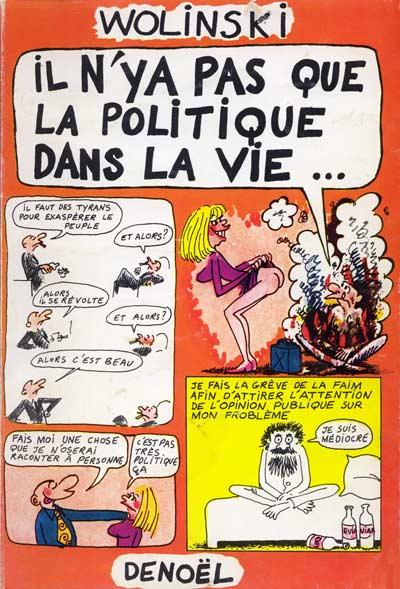 book cover for Il n'y a pas que la politique dans la vie