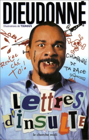 book cover for Lettres d'insulte