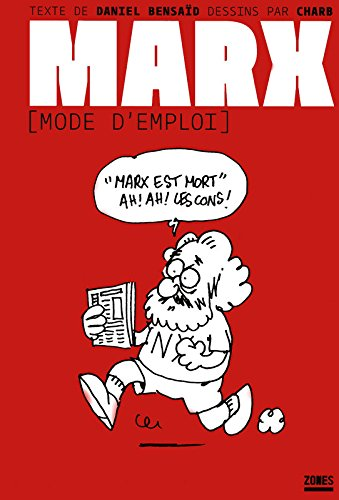 book cover for Marx, mode d'emploi
