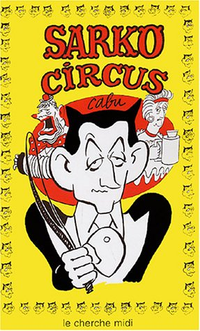 book cover for Sarko circus