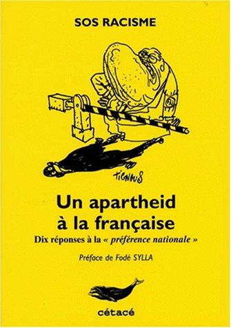 book cover for Un apartheid à la française : dix réponses à la