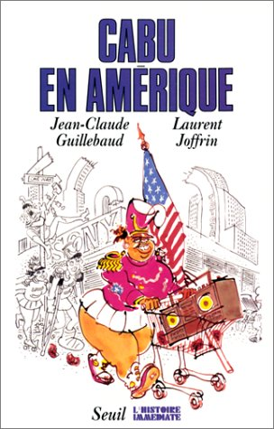 book cover for Cabu en Amérique
