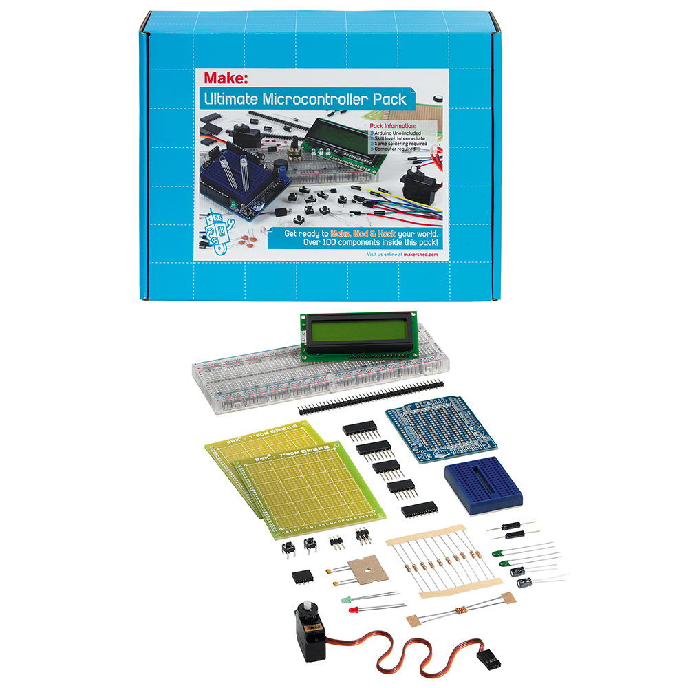 Microcontrollers & Arduino Kits - Maker Tools in the Library