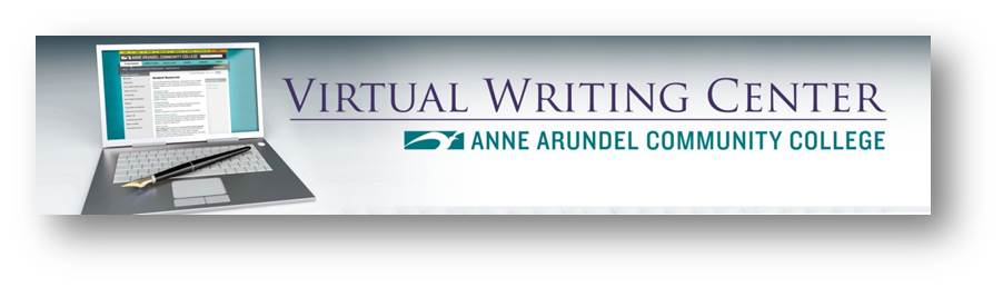 Virtual Writing Center Banner